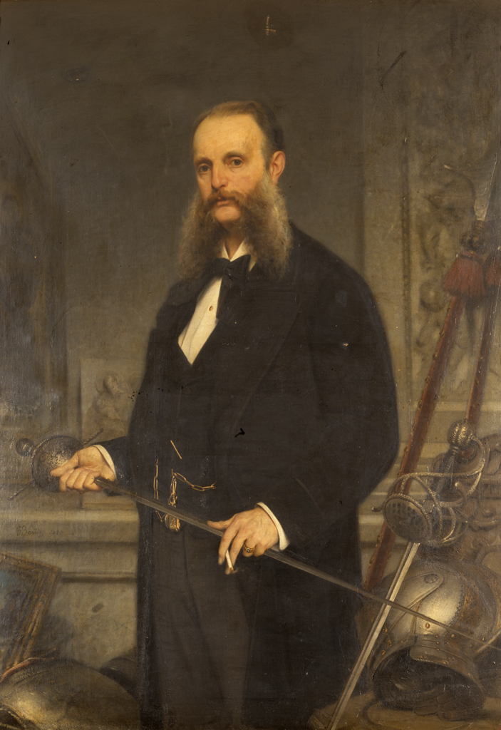 Bertini, ritratto di Giacomo Poldi Pezzoli